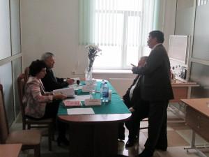 """Экзамены в ТОО """"Манас-Балхаш"""" 24 октября 2015 года"""