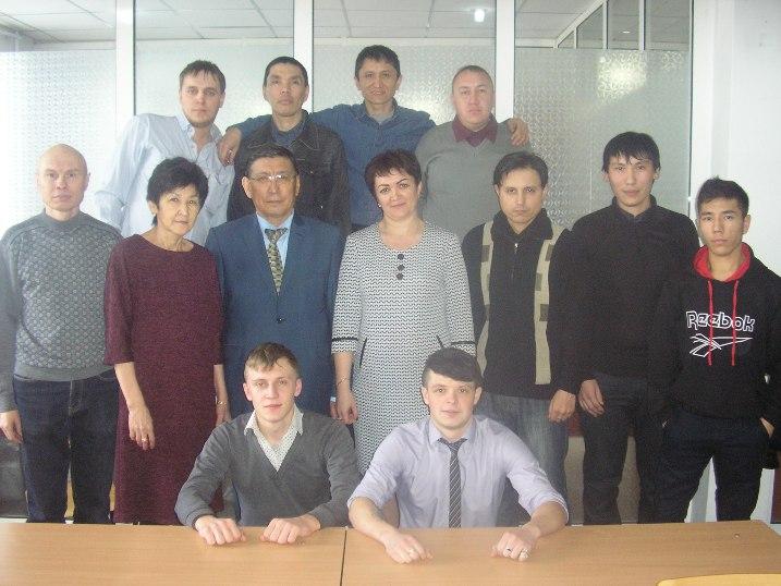 Групповое фото по итогам профессионального обучения на память